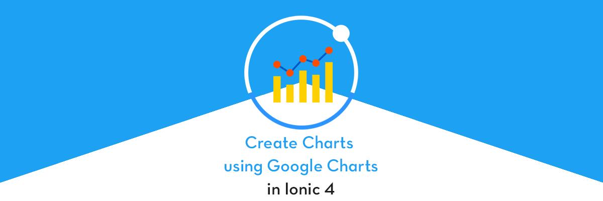 Create Charts in Ionic 4 apps and PWA using Google Charts