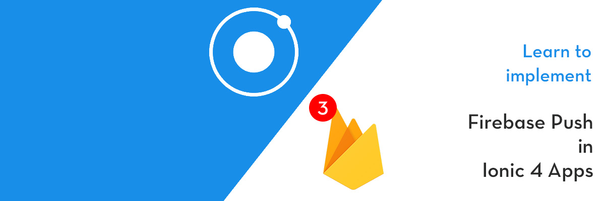 Ionic 3 firebase push notification example