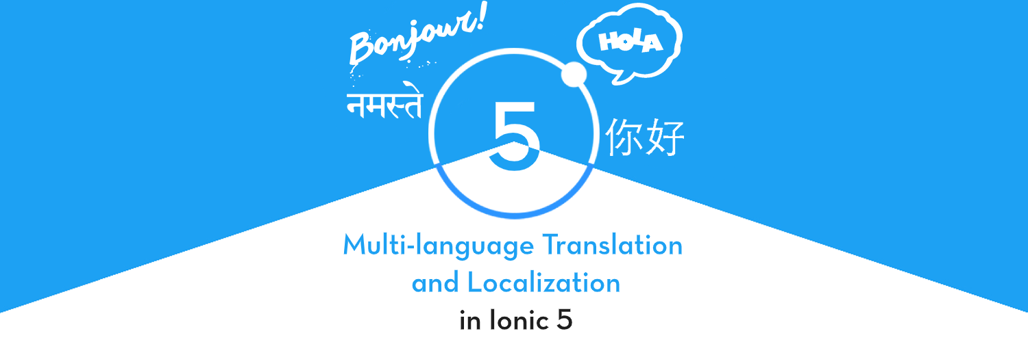 How To Translate In Ionic 5 Internationalization And Localization