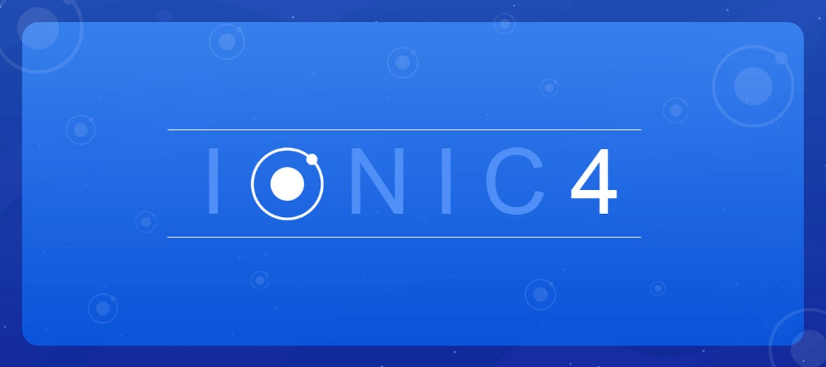 How to create an Ionic 4 app - For beginners